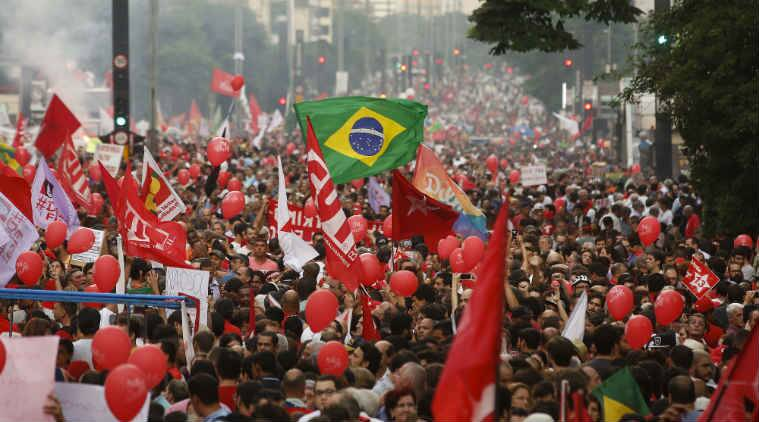 Luiz Inacio Lula da Silva, Silva Petrobras case, Silva Petrobras scandal, Silva Supreme Court suspension, Brazil protest, Brazil agitation, Brazil Supreme Court, Petrobras Corruption case, Brazil news, World news