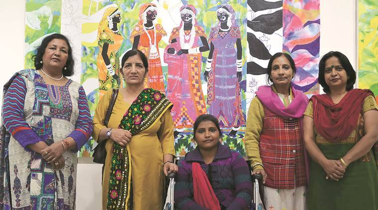 International Women's Day, Women's Day, Punjab Kala Bhawan, Kala Bhawan events, Kala Bhawan, Kala Bhawan Art Exhibition, Breaking Silence, Breaking Silence exhibition, Women's day exhibition, Chandigarh news