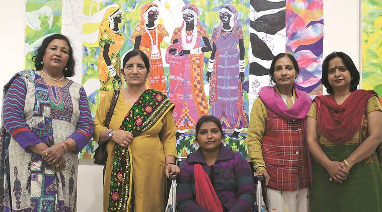 International Women's Day, Women's Day, Punjab Kala Bhawan, Kala Bhawan events, Kala Bhawan, Kala Bhawan Art Exhibition, Breaking Silence, Breaking Silence exhibition, Women's day exhibition, Chandigarh news