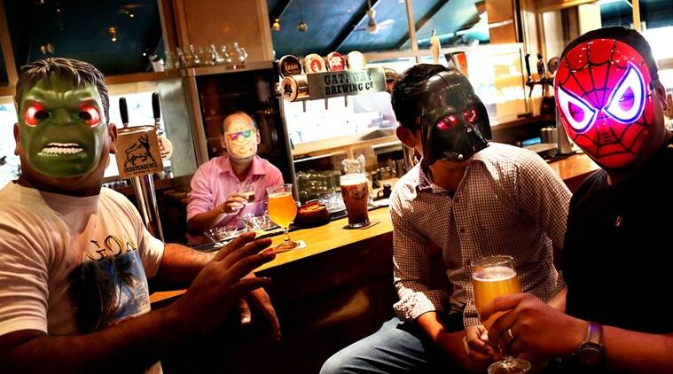Mumbai's home brewers, seen here at the craft-beer friendly Woodside Inn, like to stay under the radar. (Photo: Amit Chakravarty)