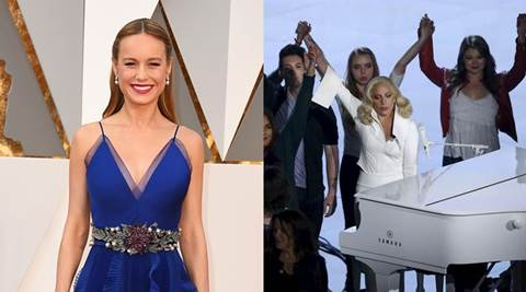 Brie Larson supports sexual assault victims