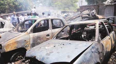 Pune: 29 vehicles charred in 2 mystery fires