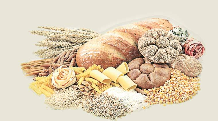 Carbohydrates are a macronutrient found in many common food. Plant-based food such as grains and pulses (dals and legumes) are rich in carbohydrates.
