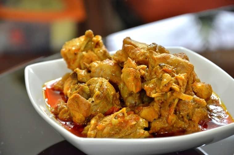 Chicken Buffarth by Bridget-White Kumar. (Express photo by Jithendra M)