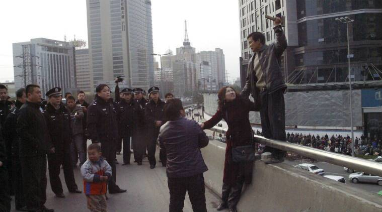 China, China public punishment, China workers publicly punished, China public sentencing, China workers public sentencing, China worker protest, Langzhong public sentencing, China wage protest, Asia news, World news