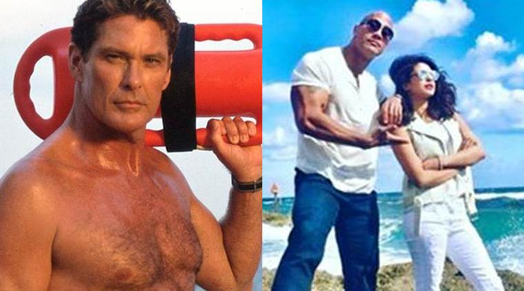 David Hasselhoff, Baywatch, Dwayne Johnson, Priyanka Chopra, Baywatch cast, Baywatch shot, Baywatch news, David Hasselhoff film, David Hasselhoff news, entertainment news