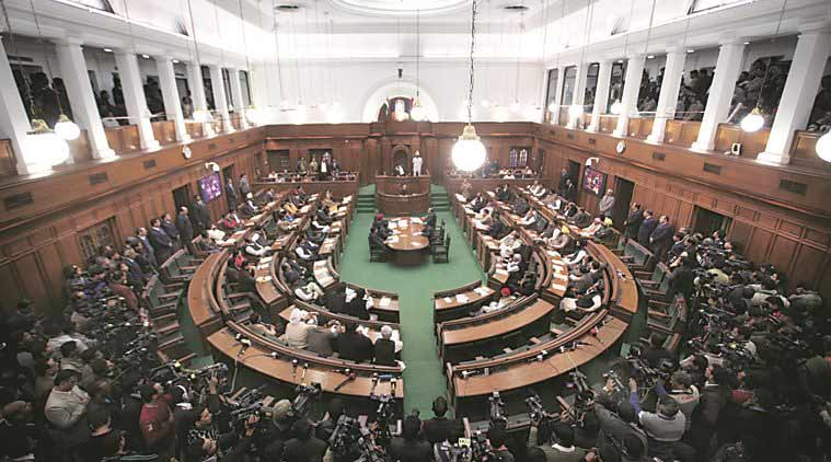 Delhi, Delhi assembly, one-day session, special session, delhi assembly session, AAP, centre, Lt governor najeeb jung, objectionable CD, india news, indian express