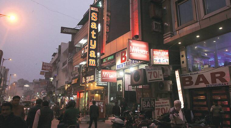 Policy will enable restaurants and bars in motels in Paharganj, Shahpur Jat and Chandni Chowk to run all night. Express