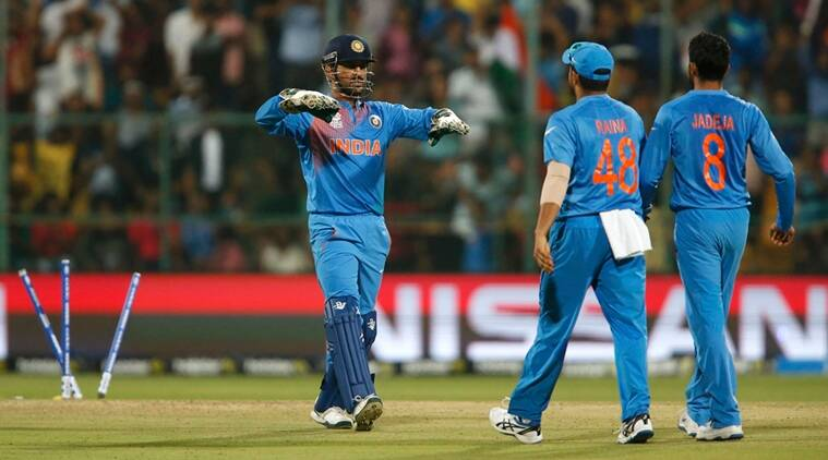 Cricket - India v Bangladesh - World Twenty20 cricket tournament