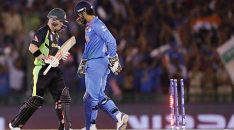 India vs Australia: Virat Kohli, MS Dhoni equal T20Irecords