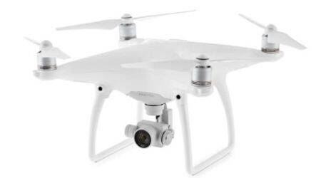 DJI Phantom 4 with advanced sensing technology, 4K camera announced