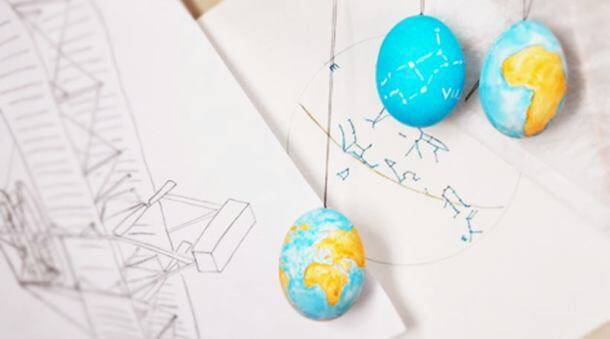 These Easter eggs are out of this world!