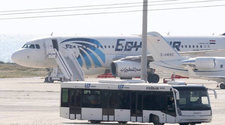 bomb threat, bomb, threat, saudi airliner, egypt, cairo, jeddah, saudi arabia, saudi airline flynas, egyptair plane, russian plane, sinai, mediterranean, egyptian capital, air security, world news, indian express news