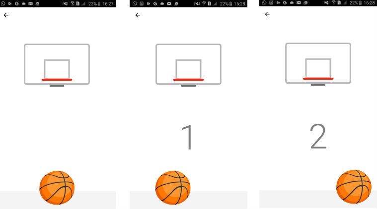 Facebook Secret Basketball Game on Messenger