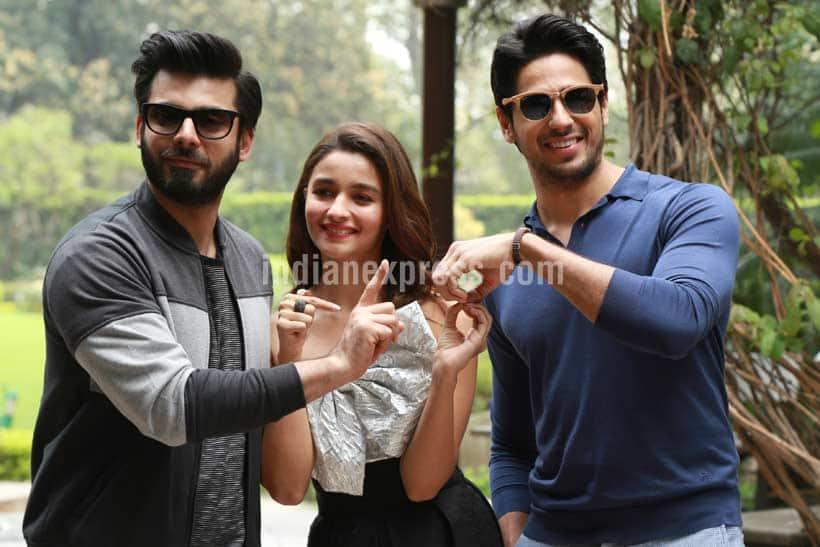 Alia, Sidharth, Fawad