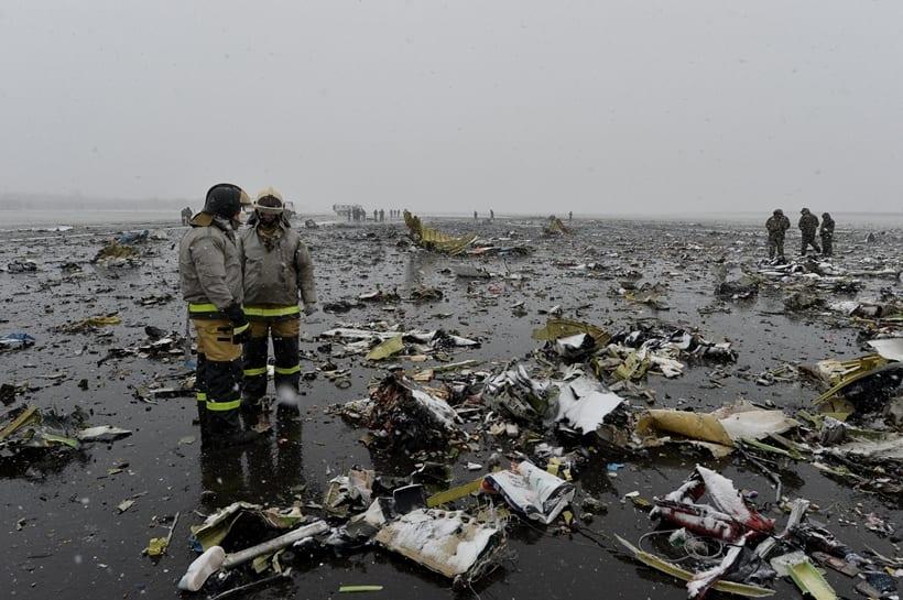[BREAKING NEWS] Pesawat Flydubai Kecelakaan di Rusia, 61 Orang Tewas
