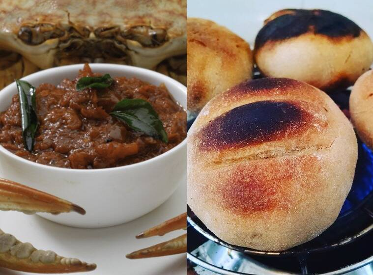 Crab Masala at Bonsouth, in Bengaluru and Litti at the Home Cafe Holi Pop-up, in Mumbai.