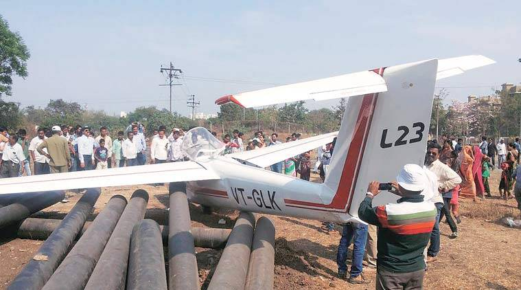 pune, pune glider, gliding centre pune, glider emergency landing, dgca, india news, pune news, latest news