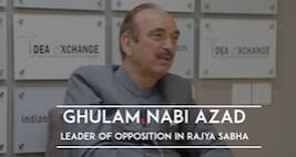Idea Exchange : Ghulam Nabi Azad On PM Modi's Silence, NDA's Govt's U-Turn & More
