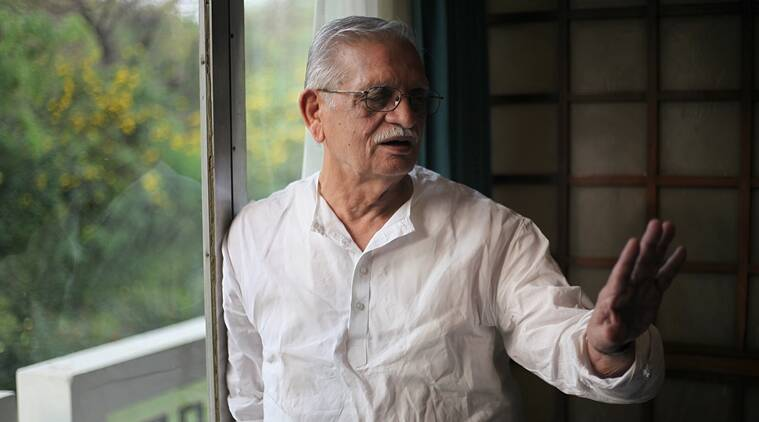 Author, Poet and Filmmaker Gulzar in New Delhi on saturday. (Interview Photo for Web) Express Photo by Tashi Tobgyal New Delhi 190316