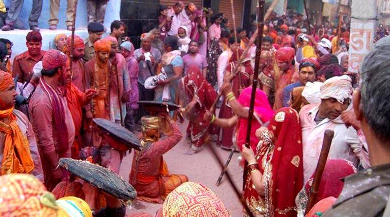 Happy Holi, Holi, Holi celebrations, tradition of Holi, traditional Holi celebrations, Lath Mar Holi, Basant Utsav, Purulia, Hola Mohalla, Anandpur Sahib, Mathura, Vrindavan, Basantotsav, Shantiniketan, Udaipur