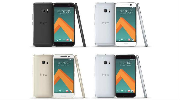 HTC 10 will come in four colour variants and will skip on screen buttons in favour of capacitive navigation keys (Source: Evleaks/Twitter)