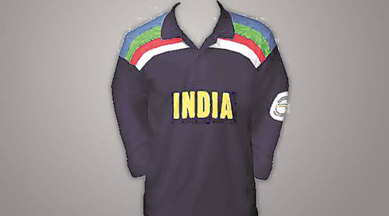 354110af5 1992- There's blues and then there are blues so it's worth debating if  India's 1992 jersey Down Under was Navy, Midnight or the staid Oxford blue.