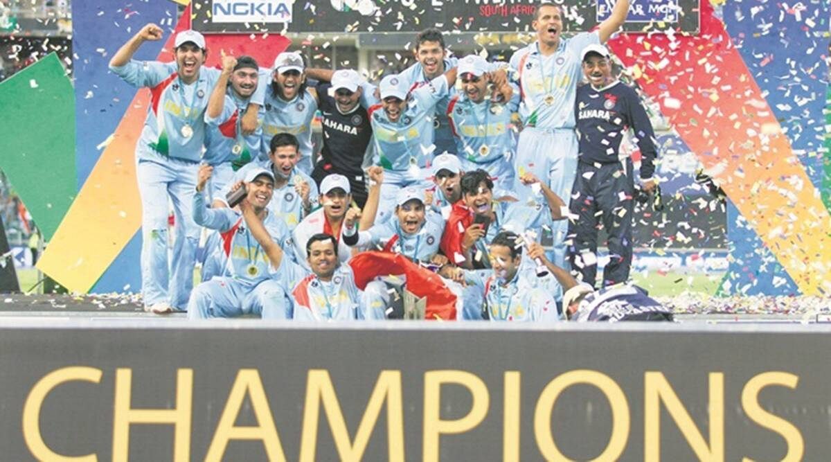 India S Road To Glory In Icc World T20 2007 Sports News The Indian Express