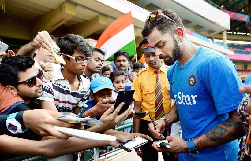 Before big game, India sweat it out | Sports Gallery News
