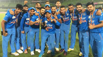 India Vs Bangladesh Here S How India Celebrated Asia Cup Win