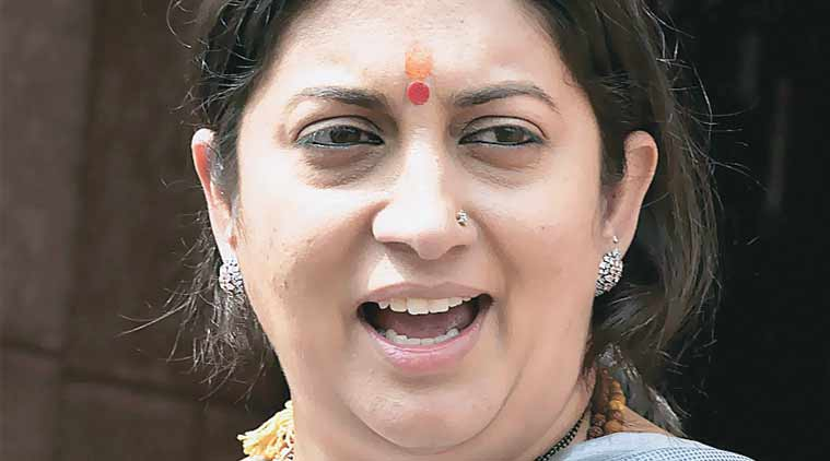 Irani reiterated the defence she had put up in Parliament.