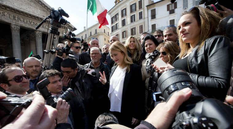 Giorgia Meloni, Pregnant mayor candidate, Rome mayor candidate, Rome Pregnant candidate, Women empowerment, Rome mayor elections, Rome mayor polls, Capitoline wolf, Italy news, Europe news
