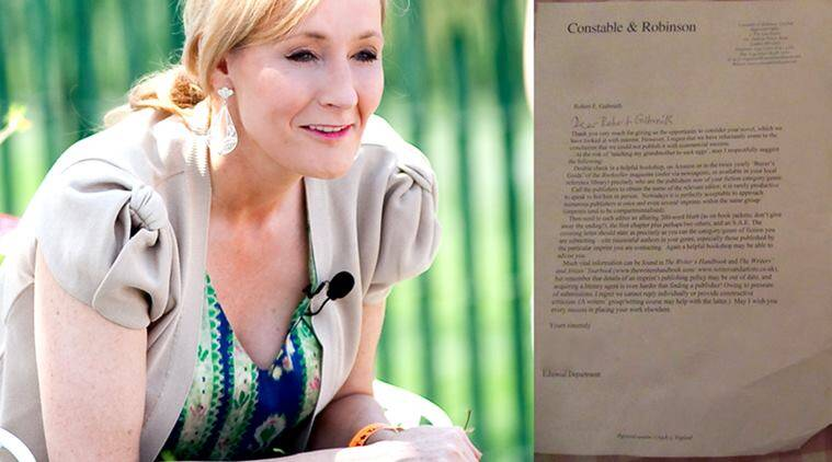JK Rowling, Robert Galbraith, The Cuckoo's Calling, Twitter, rejection letters, publishing, publishers, Constable & Robinson, Creme de la Crime, Severn House Publishers
