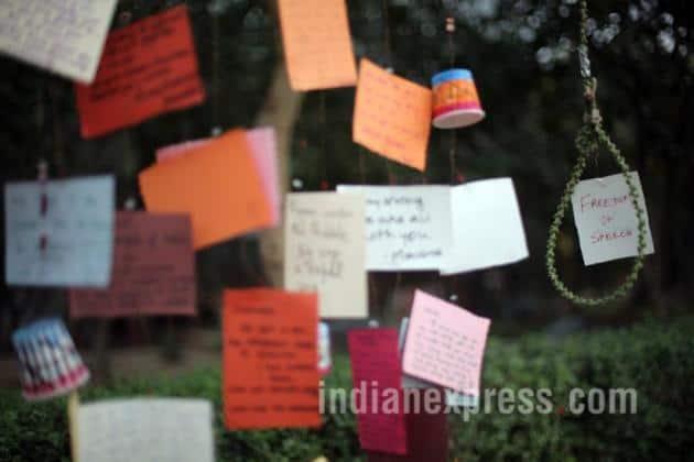 Rohith Vemula, Rohith Vemula Suicide, Rohith Vemula mother, Kanhaiya, Kumar, Kanhaiya Kumar Jail, Thane Murder, Thane Mass Murder, Make In India, Make In India Fire, Maharashtra Fire, Lawyer Protest, Jat Protest, Jat Quota, JAt Agitation, JNU Protest, Sanjay Dutt, Sanjay Dutt Released, Sanjay Dutt released From jail, Smriti irani, Smriti Irani speech, Budget 2016, Arun Jaitley, Best of February, February top Chatter, Indian Express, Best Pics, Best photos