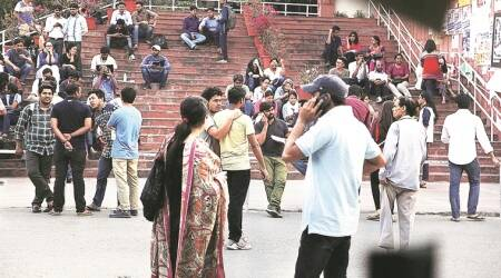 Within months of JNU comeback, ABVP fights discontent within