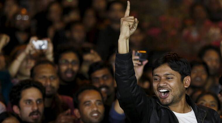 Kanhaiya Kumar at the JNU campus on March 3, 2015. (Reuters)