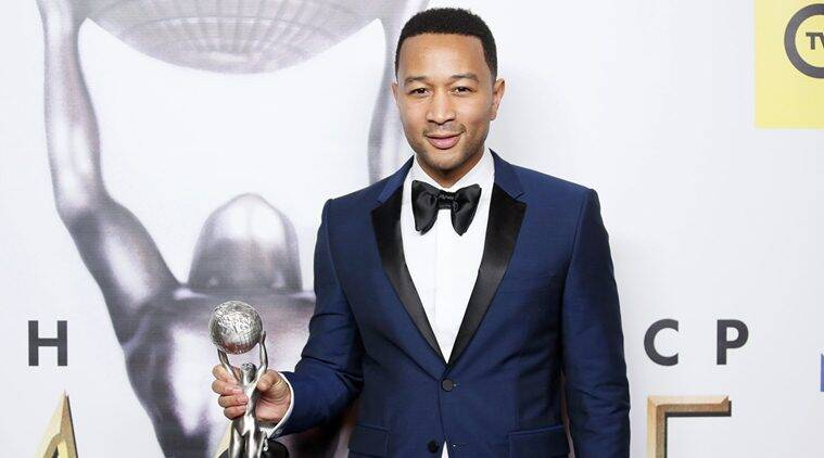 John Legend, John Legend Calls Donald Trump Racist, Donald trump, John Legend slams Donald Trump, John Legend twitter Reaction, John Legend news, Entertainment news