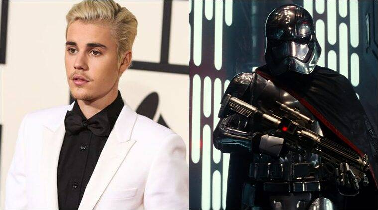 Justin Bieber, Justin Bieber Wins, Star Wars: The force Awakens, Star Wars The Force Awakens wins, Ariana Grande, 2016 Kids' Choice Awards, Entertainment news
