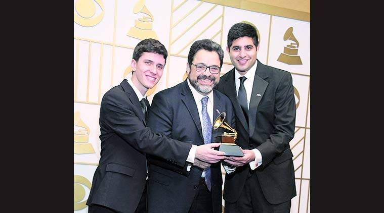 58th annual Grammy Awards, Grammy Awards, The Afro Latin Jazz Orchestra, Arturo O'Farrill , kabir sehgal, latin jazz, Rudresh Mahanthappa, talk