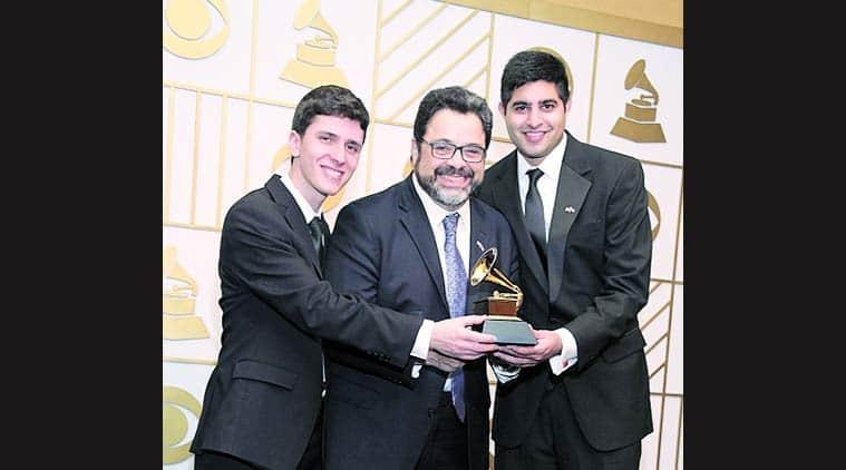 58th annual Grammy Awards, Grammy Awards, The Afro Latin Jazz Orchestra, Arturo O'Farrill , kabir sehgal, latin jazz, Rudresh Mahanthappa, talk