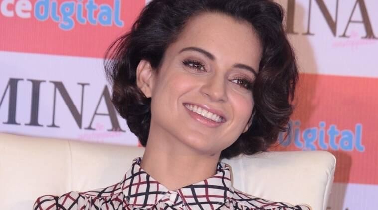 Mumbai: Actress Kangana Ranaut during the launch of March issue of Femina Magazine on the occasion of Women's Day in Mumbai on March 8, 2016. (Photo: IANS)
