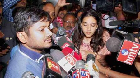 Kanhaiya Kumar demands justice for Rohith Vemula, forced to return from HCU campusgates