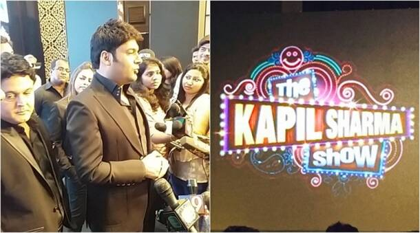 kapil sharma, kapil sharma new show, kapil sharma show launch, the kapil sharma show, kapil sharma pics, kapil sharma pics at launch, kapil sharma new show launch pics, kapil sharma navjot singh sidhu, the kapil sharma show launch, the kapil sharma show launch pics, entertainment