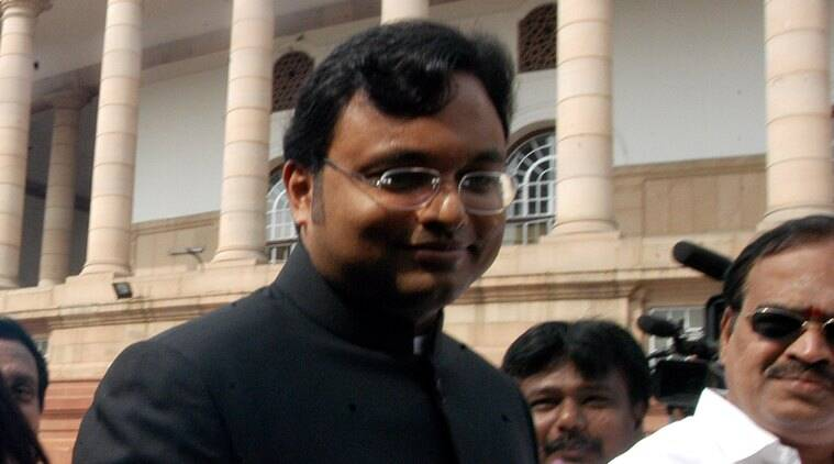 Karti Chidambaram, Karti Chidambaram raid, chidambaram ED case, Enforcement Directorate, INX Media, INX Media case, money laundering, indian express news, india news