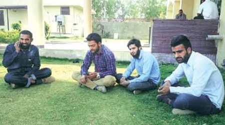 Beef row: Held Kashmiri students to save them from Bajrang Dal, sayspolice