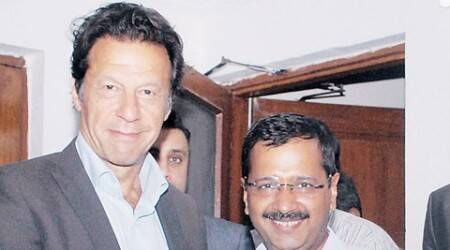 Arvind Kejriwal meets Pakistan's Imran Khan, talks politics, tacklingcorruption