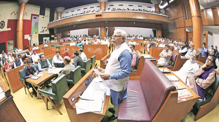 Haryana Assembly, Haryana Assembly special session, Haryana GST, Haryana govt, Haryana news, india news, latest news, indian express