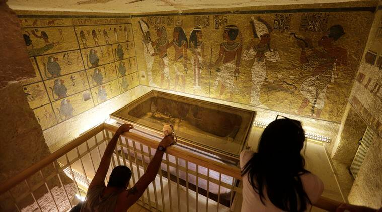 Egypt 'suppressing truth' over hidden chambers in Tutankhamun's tomb