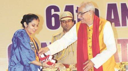 Gujarat University's 64th convocation – Talk of dharma and you'll  be termed communal:Governor