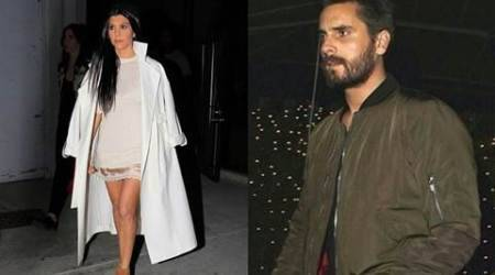 Kourtney Kardashian's ex-boyfriend Scott Disick parties with several women in Mexico